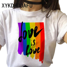 Load image into Gallery viewer, LGBT Shirt - Rainbow Hands
