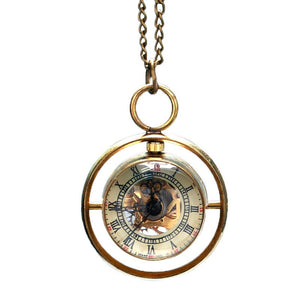 Steam Punk Vintage Whirling Pocket Watch