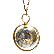 Load image into Gallery viewer, Steam Punk Vintage Whirling Pocket Watch