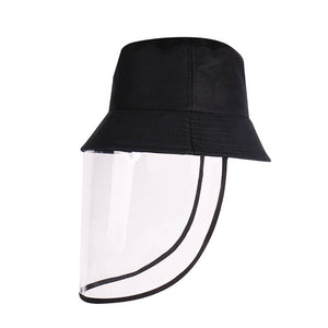 Protective Transparent Shield Bucket Hat