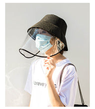 Load image into Gallery viewer, Protective Transparent Shield Bucket Hat