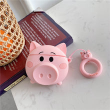 Load image into Gallery viewer, AirPods Silicone Case - Oink & Meow