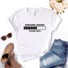 Load image into Gallery viewer, Word T-Shirt - Sarcasm Loading...
