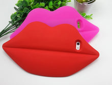 Load image into Gallery viewer, iPhone 3D Sexy Lips Soft Silicone Case