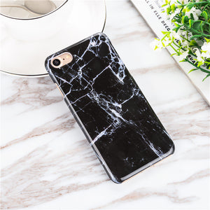 iPhone Gray Matter Marble  Case