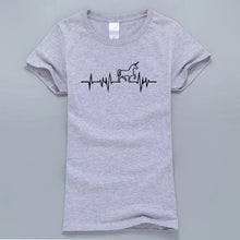 Load image into Gallery viewer, Heartbeat Unicorn T-Shirt