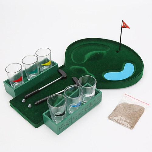 Golf Putting Drinking Game