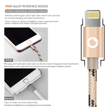 Load image into Gallery viewer, Lightning Fast Charger Original USB Cable For iphone 6 s & 5 s