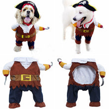 Load image into Gallery viewer, Pirate Halloween Dog Costume