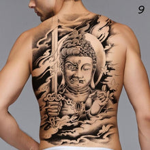 Load image into Gallery viewer, Temporary Tattoo - Full Back Warrier
