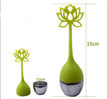 Load image into Gallery viewer, Lotus Flower Loose Leaf Tea Infuser