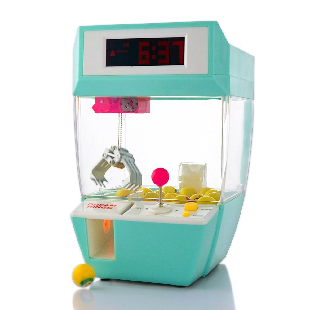 Claw Machine Desk Top Alarm Clock