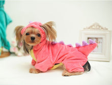 Load image into Gallery viewer, Dinosaur Halloween Dog Costume