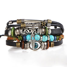 Load image into Gallery viewer, Tibet Multilayer Leather Bracelet