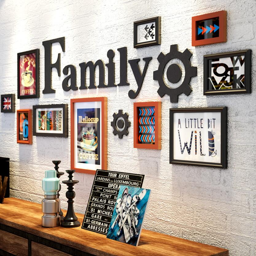 Multi Frame Wall Gallery Kit - Family