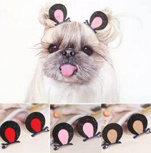 Load image into Gallery viewer, Rabbit Ear Hair Clips - 6pc Set