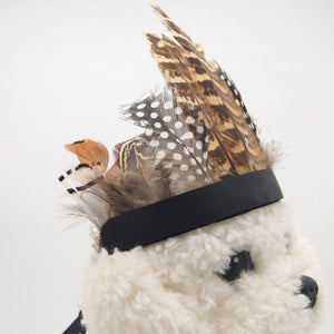 Indian Chief Dog Hat Costume