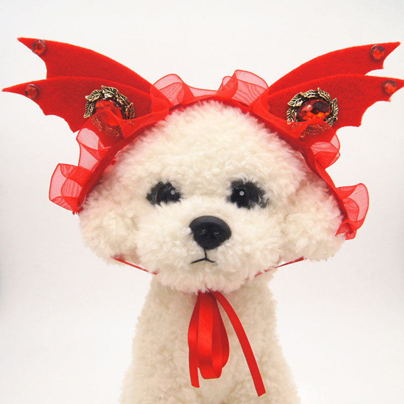 You Little Devil Dog Hat Costume