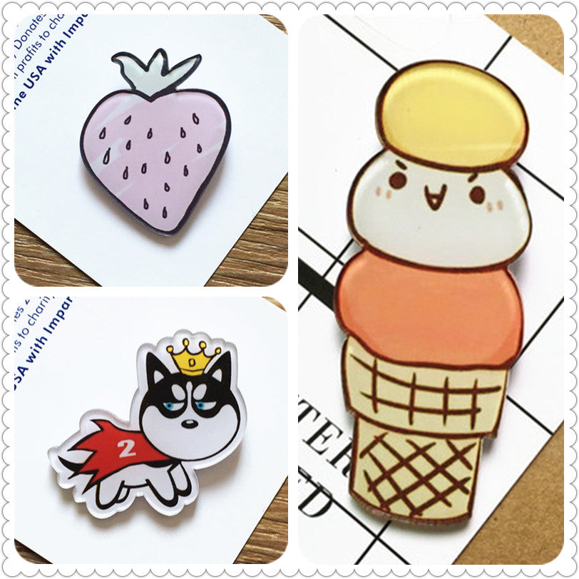 Harajuku Kawaii Japanese Korean Animations Pins