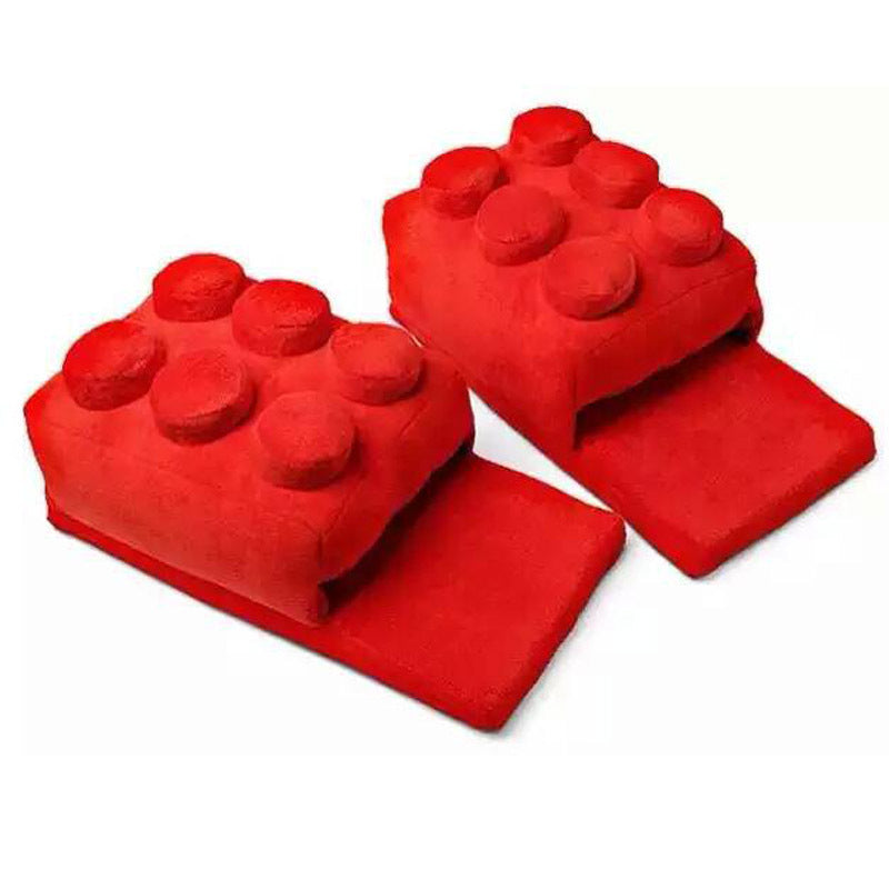 Building Block Style Slippers