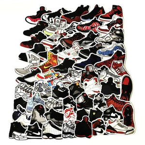 Graffiti Stickers - Kicks - 60 pcs