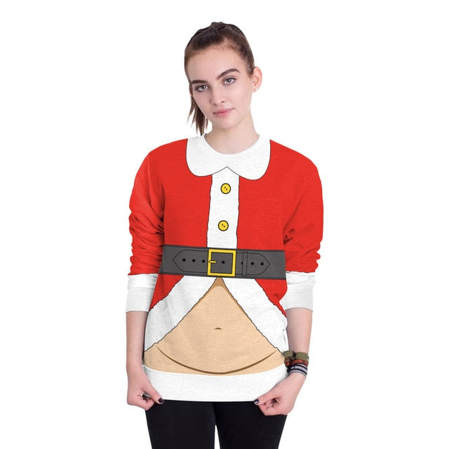 Ugly Fat Santa Xmas Sweatshirts