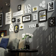 Load image into Gallery viewer, Multi Frame Letter Creative Wall Gallery Kit - Love