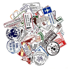 Load image into Gallery viewer, Graffiti Stickers - Passport Stamps - 60 pcs