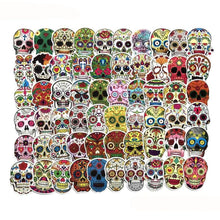 Load image into Gallery viewer, Graffiti Stickers - Fantasy Skulls - 60 pcs