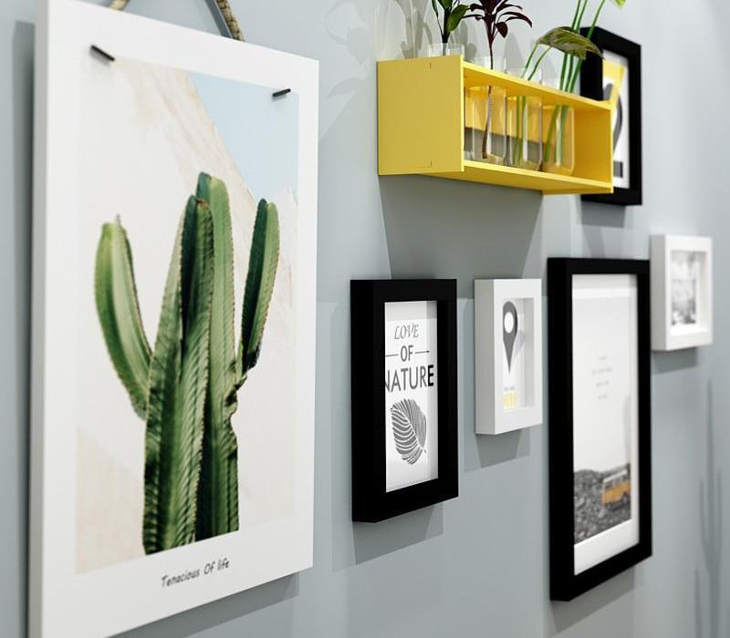 Multi Frame Wall Gallery Kit - Cactus