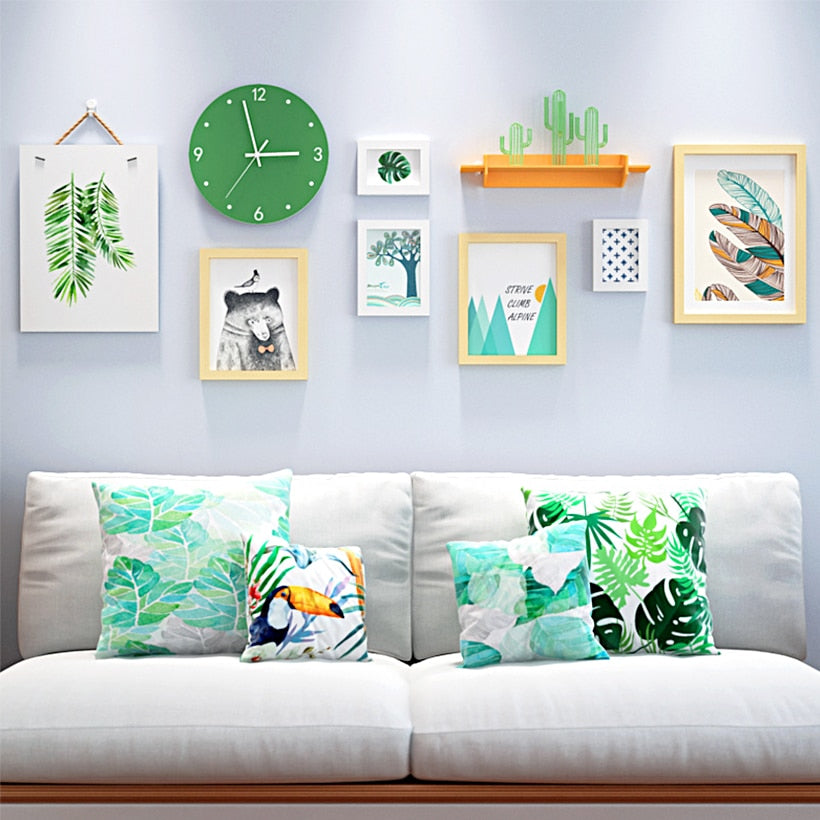 Multi Frame Wall Gallery Kit - Tropical Paradise