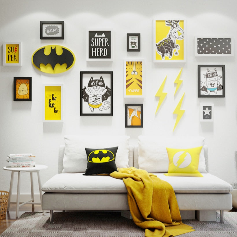 Multi Frame Wall Gallery Kit - Bat Boy
