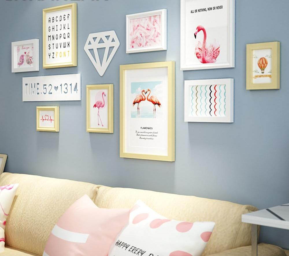 Multi Frame Wall Gallery Kit - Pretty Like A Swan
