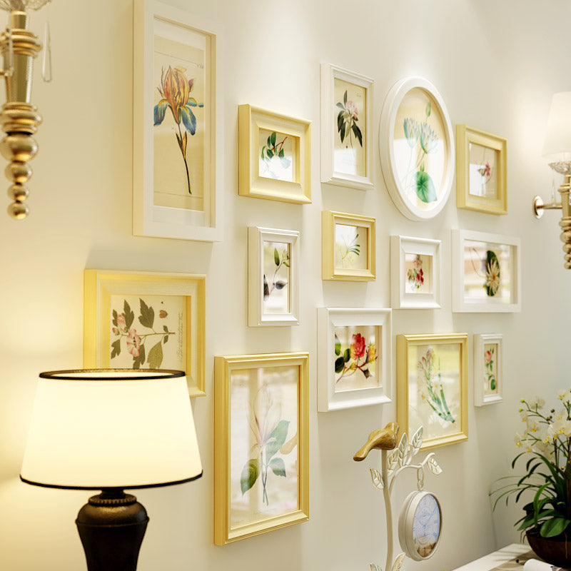 Multi Frame Wall Gallery Kit - Traditional Botanical