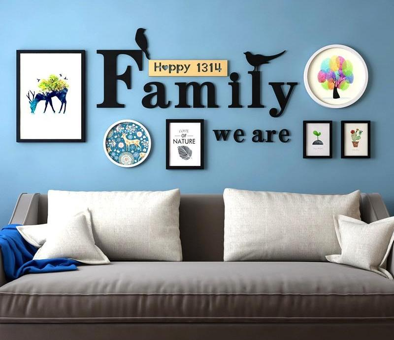 Multi Frame Wall Gallery Kit - Family We Are