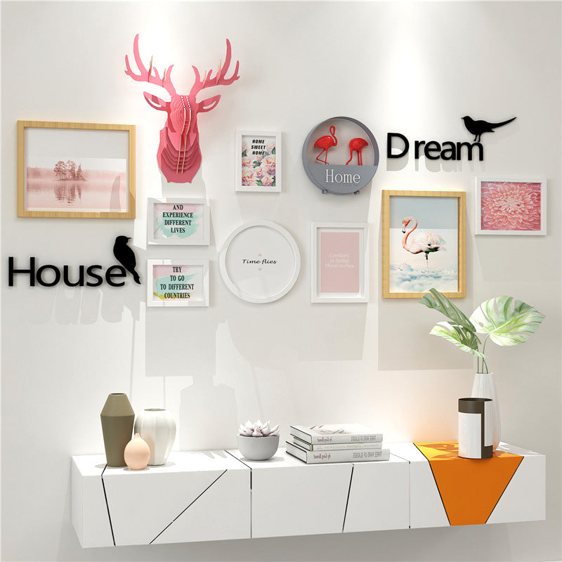 Multi Frame Wall Gallery Kit - Live Your Dream