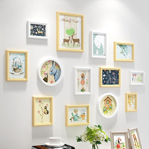 Multi Frame Wall Gallery Kit - Storybook Theme