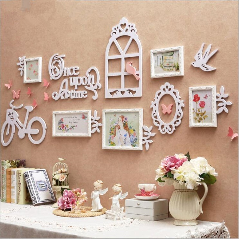 Multi Frame Letter Creative Wall Gallery Kit - Fairy Tale Home