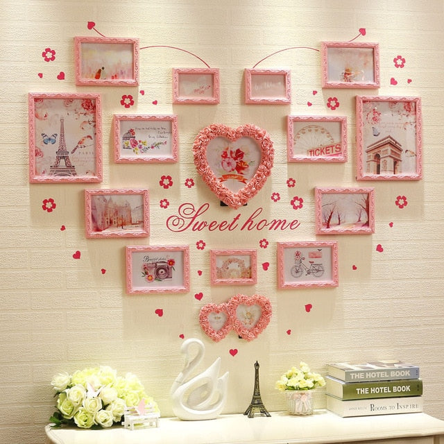 Multi Frame Letter Creative Wall Gallery Kit