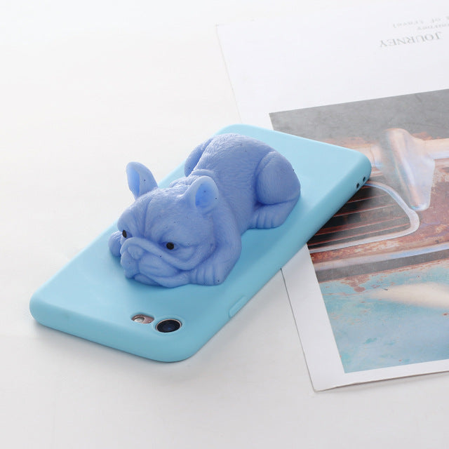 Bulldog & Frenchie Squishy iPhone Case, FREE JUST PAY SHIPPING