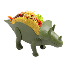 Load image into Gallery viewer, Triceratops Dinosaur Taco Holder