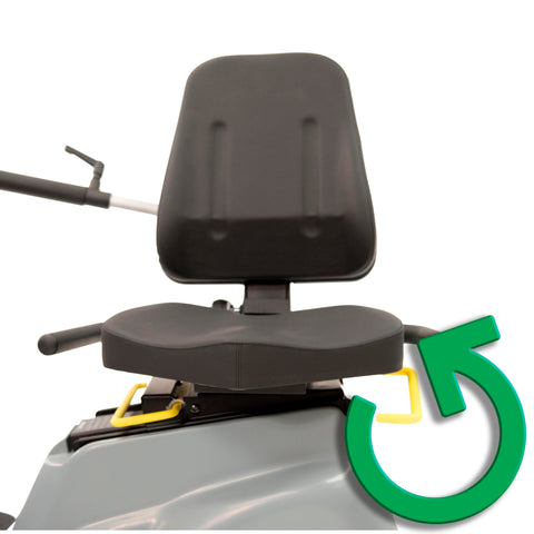 Swivel Chair Recumbent Cross Trainer