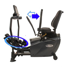 PhysioStep MDX Recumbent Elliptical Cross Trainer