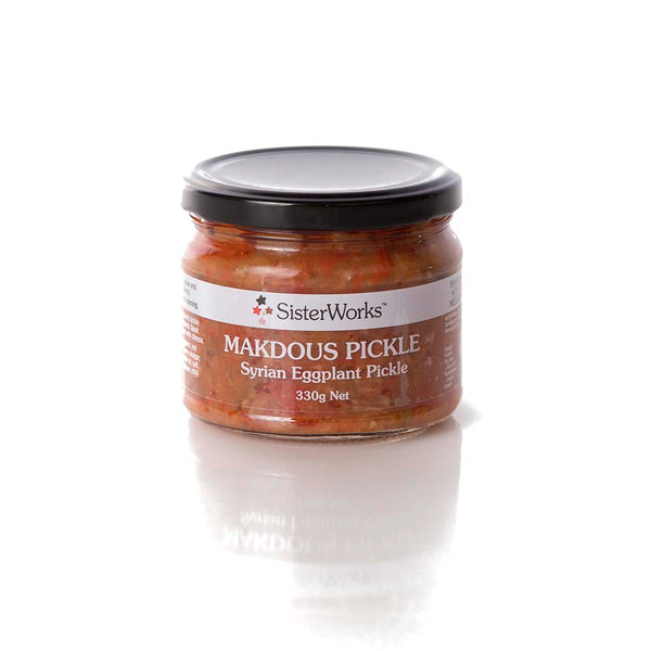 MAKDOUS PICKLE Syrian Eggplant Pickle