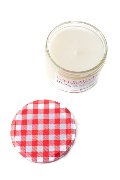 SisterWorks - Soy Candle in Jar with picnic lid