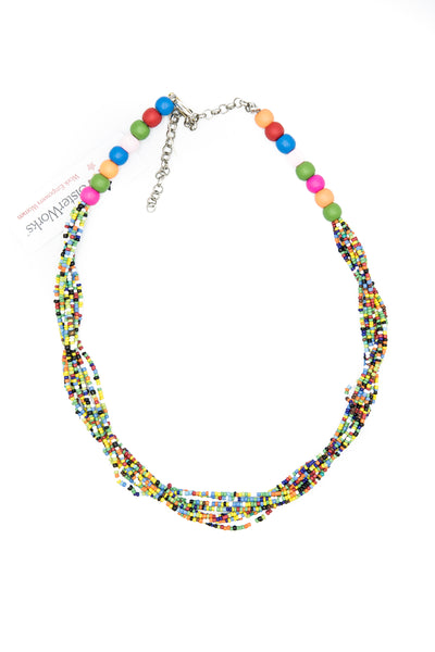 Betty - Thick Beaded Necklace
