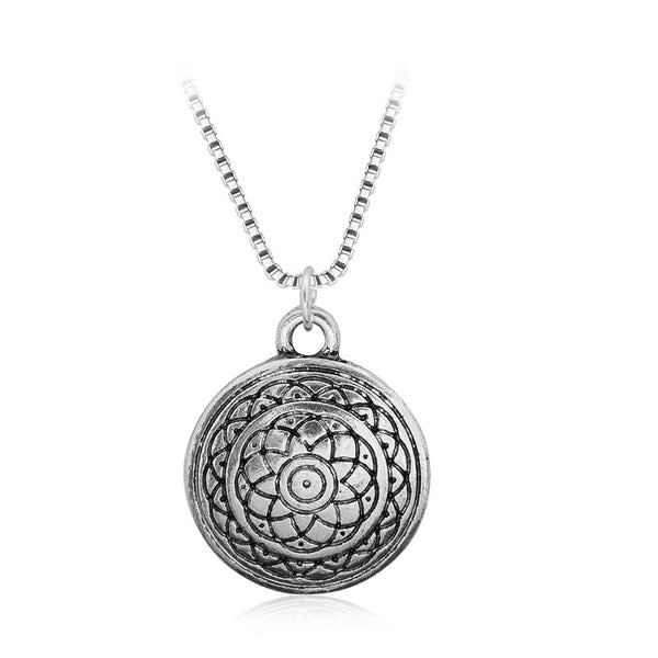 Rebirth Mandala Spiritual Necklace