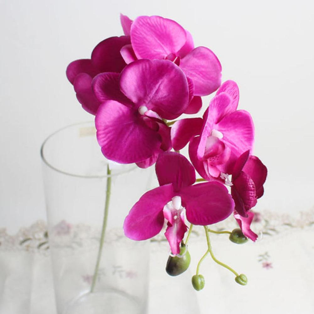 Fashion Orchid Artificial Flowers Diy Artificial Butterfly Orchid