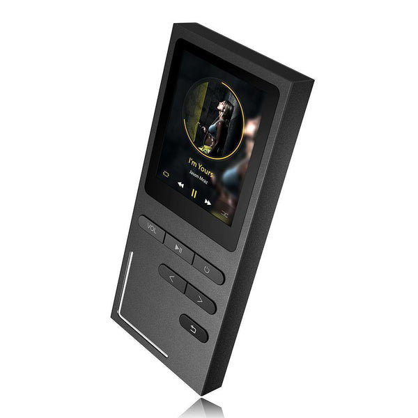 Hifi Metal Mp3 Player Built-In Speaker Ape/Flac/Wav High Sound Quality 8Gb Entry-Level Lossless Music Player With Fm-DIGDU-DIGDU