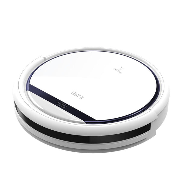 Ilife V3S Pro Robot Vacuum Cleaner, Home Household 600Pa Suction Sweep Machine For Pet Hair, Anti Collision Self Charging-DIGDU-DIGDU